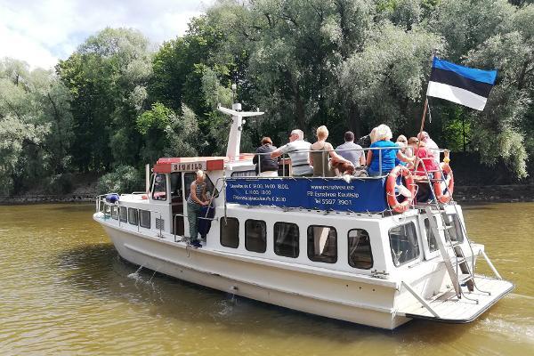Городские круизы по реке Эмайыги на судне Signild