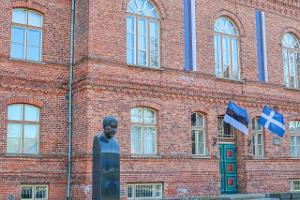 Minnesmärke över Paul Keres i Pärnu