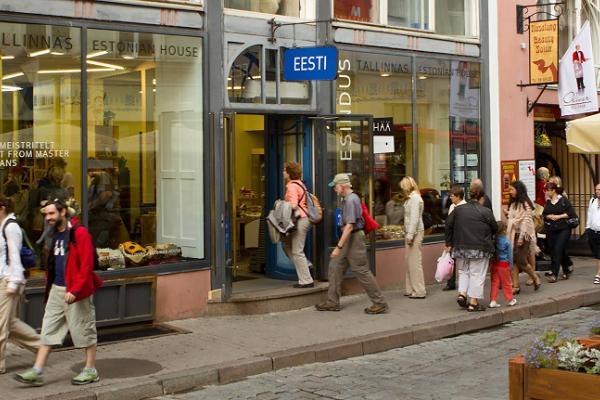 "Eesti käsitöö ja disaini kauplus ""Eesti Esindus Tallinnas"""