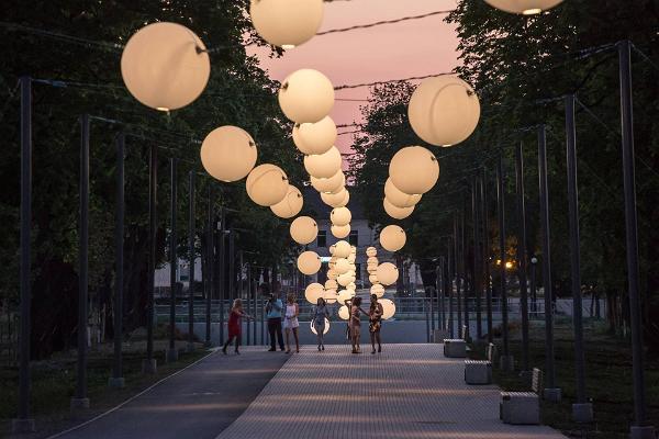 Jõhvi promenade