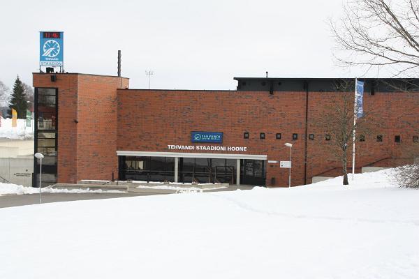 Tehvandi sporta centra stadiona ēka