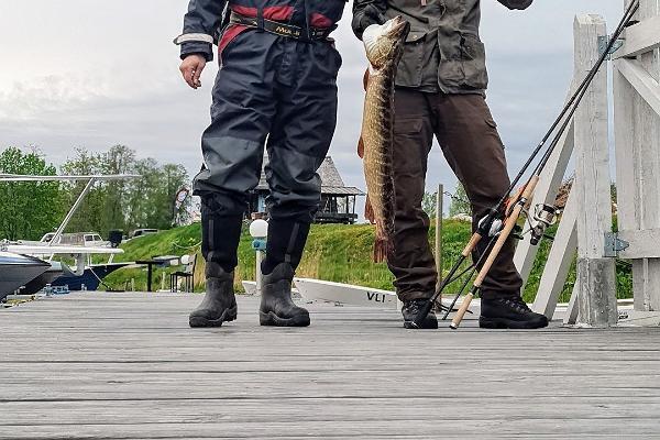 Zveja Pērnavas līcī vai upē kopā ar gidu
