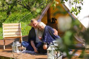 Peipsi Glamping, kevad, õunaaed, telkimine, looduspuhkus, perepuhkus, romantika, Peipsimaa