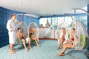 Aura Keskuse saunakeskus: Ripptoolidega puhkeala