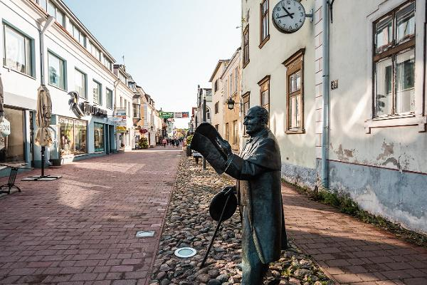 Skulptur von Johann Voldemar Jannsen