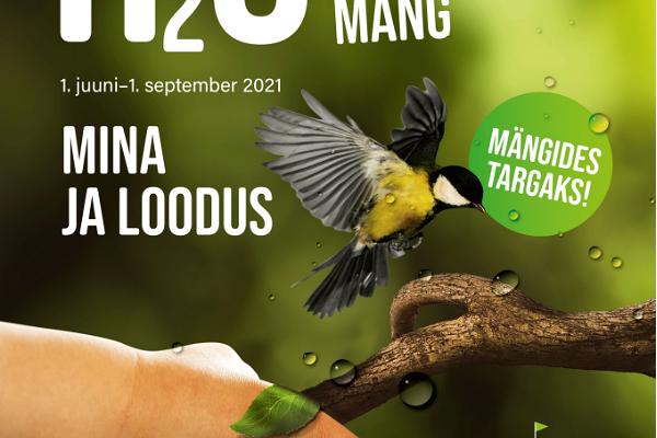 H2O külastusmäng 2021: mina ja loodus