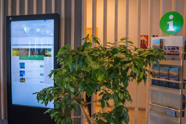 Elektronische Touristeninformation im Restaurant Tikupoiss