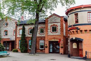 Aleksandri-Hotel von außen