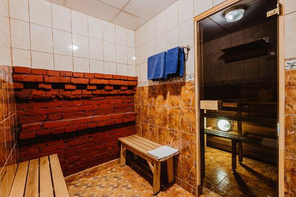 Aleksandri Hotel, room with a sauna