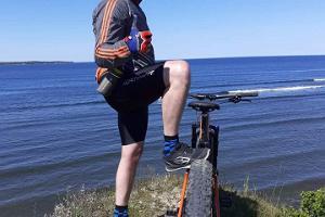 Ausflug mit elektrischen Fatbikes in Tallinn und im Kreis Harju