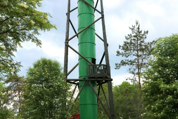 Emumägi hill and observation tower