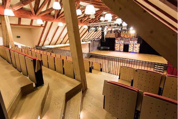 Tour at the Estonian Traditional Music Centre in Viljandi