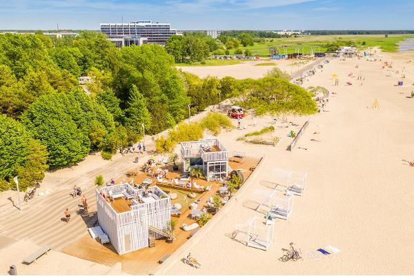 Strandpromenade von Pärnu