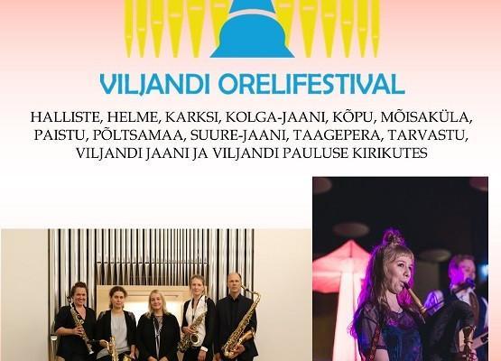 Viljandi Orelifestivali kontserdid üle Eesti