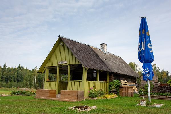 Farm sauna and bath barrels in Kõrvemaa