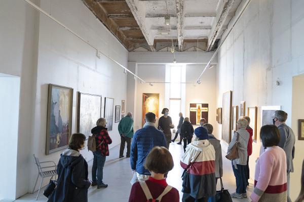 Ekskursijas gida pavadībā Vīnistu Mākslas muzejā