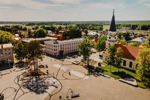Võrun kaupungin keskusaukio