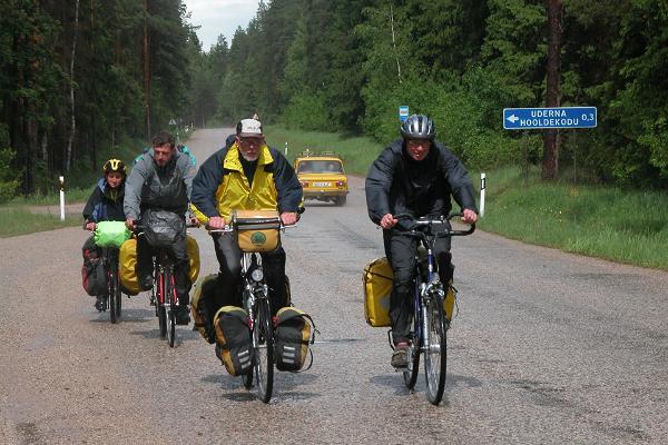 Tour de LatEst pyöräreitti
