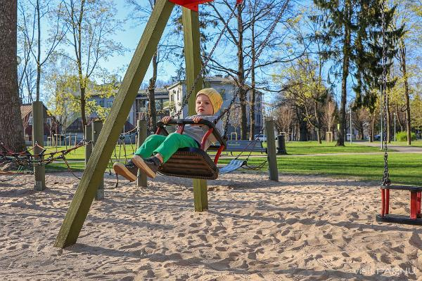 Vanapark playground in Pärnu