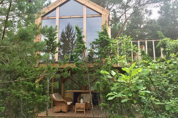 Īgumetsa koka māja