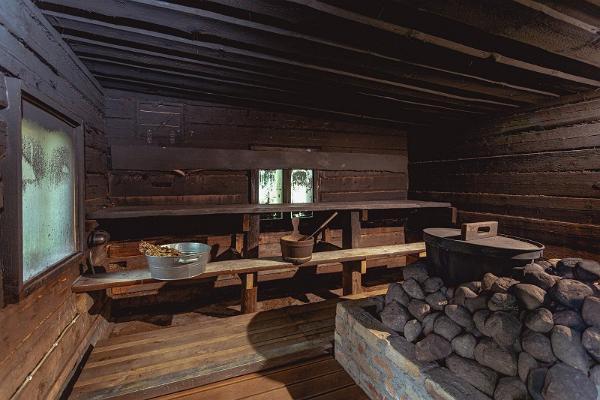 Kargaja Kuke smoke sauna