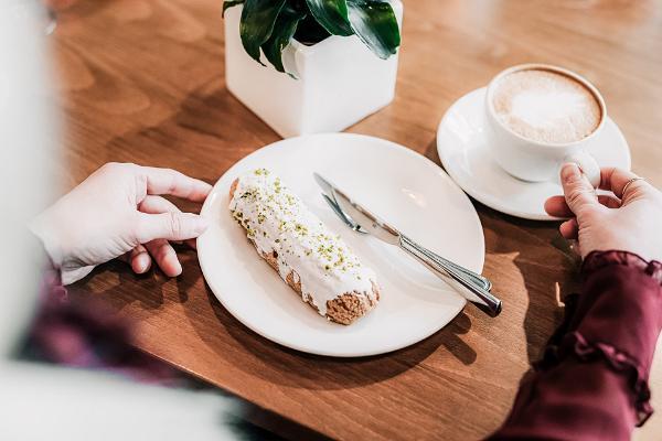 Café GMP Patisserie, delikater Kaffee