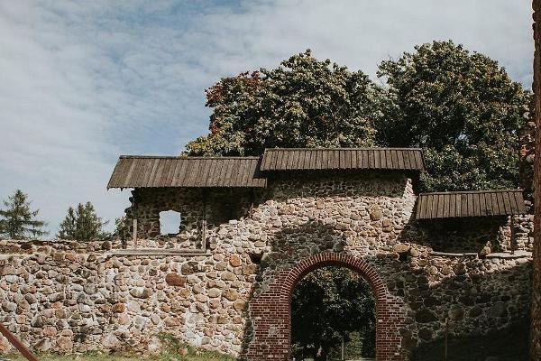 Karksi order fortress ruins