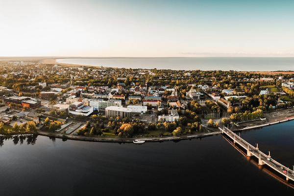 Pärnu – Lavassaare radroute