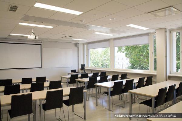 TÜ Raamatukogu konverentsikeskuse Kodavere seminariruum