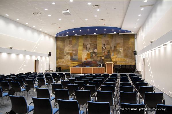 TÜ Raamatukogu konverentsikeskuse konverentsisaal