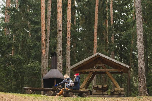 Saare Lake camping area
