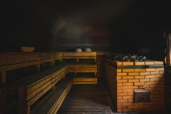Vooren lomakeskuksen sauna