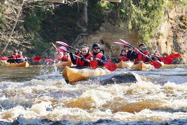 süstamatk kayaking metsarestoran sünnipäev matkajuht