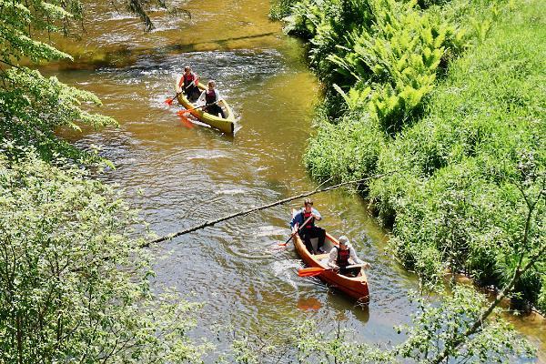 Ahja kanuumatk süstamatk canoeing kayaking jõgi matkajuht matk visitestonia