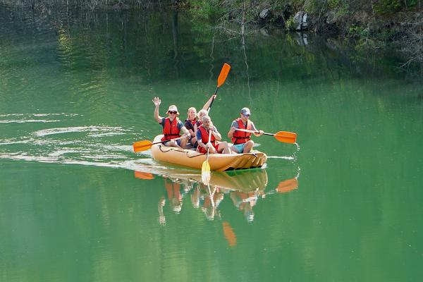 Parvematk rafting sünnipäev visit estonia matkajuht