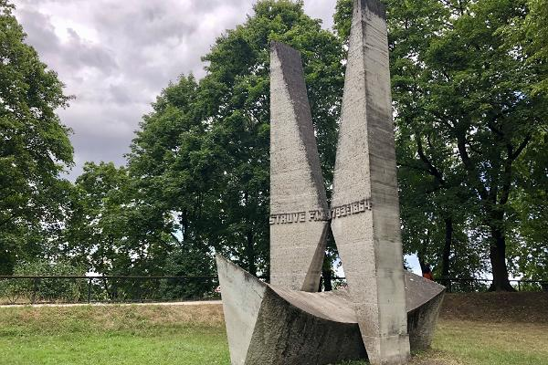 Friedrich Georg Wilhelm Struven muistomerkki