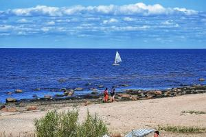 Lemme strand och RMK tältplats