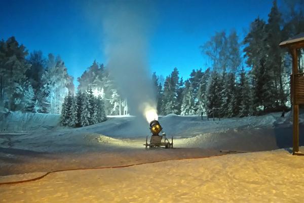 Nii tehakse tuubimäele lund