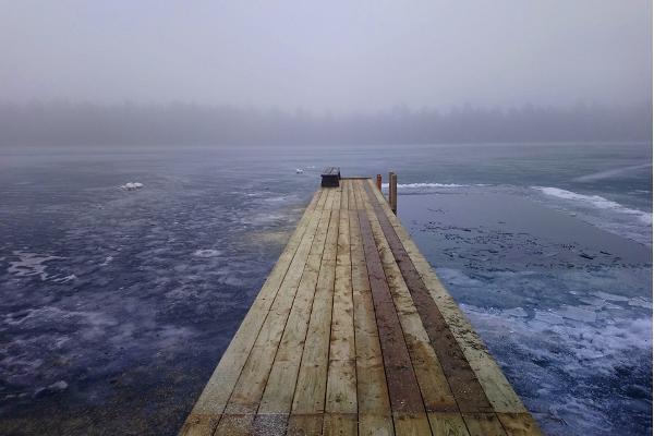 Lake Valgejärv hiking trail