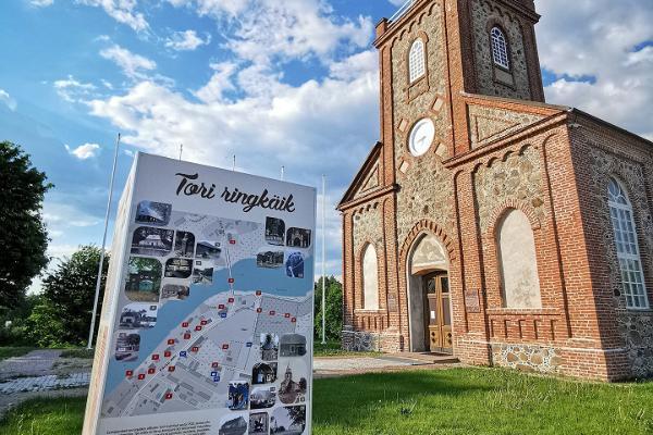 Igaunijas Kareivju Piemiņas baznīca Tori