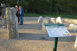 Saka Mõisa pargis kivimite ekspositsioon