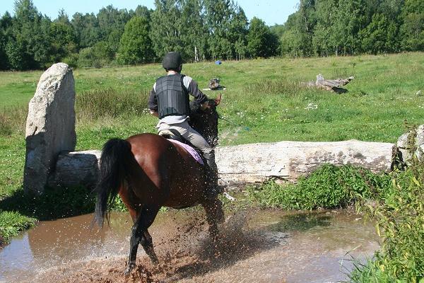 Izjādes ar zirgiem kompleksā Tamme Tall
