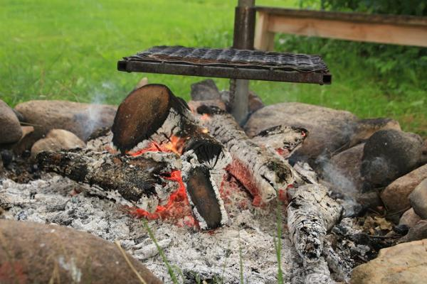 Tamme Tallin lomatalon grilli