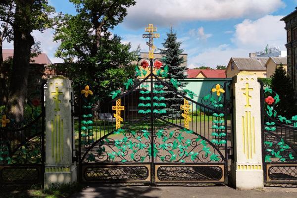 Die Christi Verklärungskirche der Orthodoxen Kirche von Estland