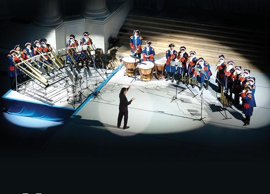 Concert by Russian Horn Orchestra (St. Petersburg)