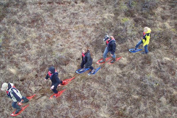"""Entdecken Sie mit """"Seikle Vabaks"""" den Nationalpark Soomaa! Wanderungen zu Fuß und mit Moorschuhen, Kanu- oder Kajakfahrten!"""
