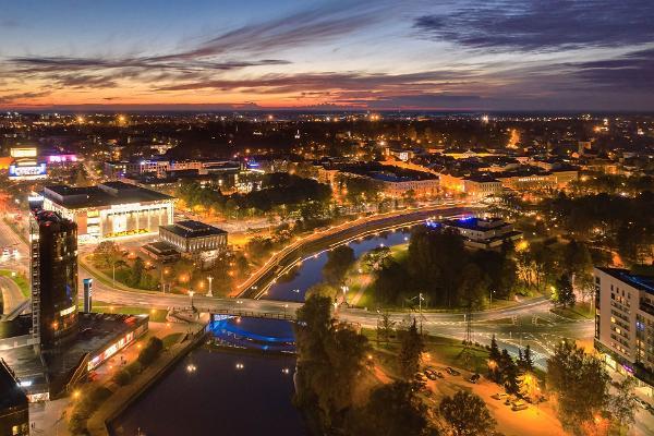 4 - Valga-Tallinn rattamatkatee: Õhtune Tartu ja Emajõgi