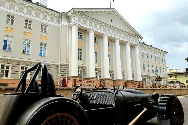 4 - Valga-Tallinn rattamatkatee: Tartu Ülikool