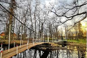 Audrun kartanon puisto