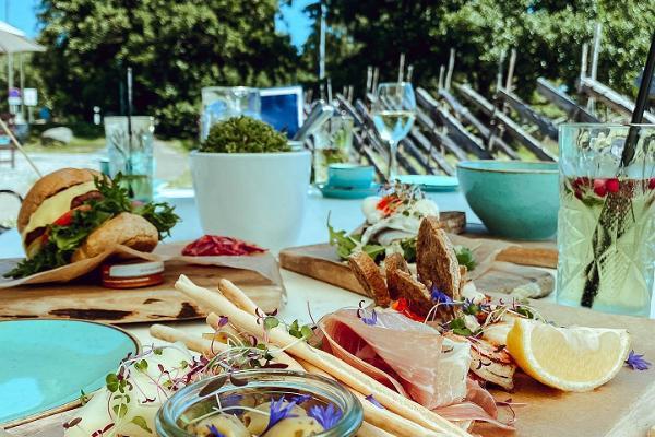 Strandrestaurant Paat (dt. Boot)